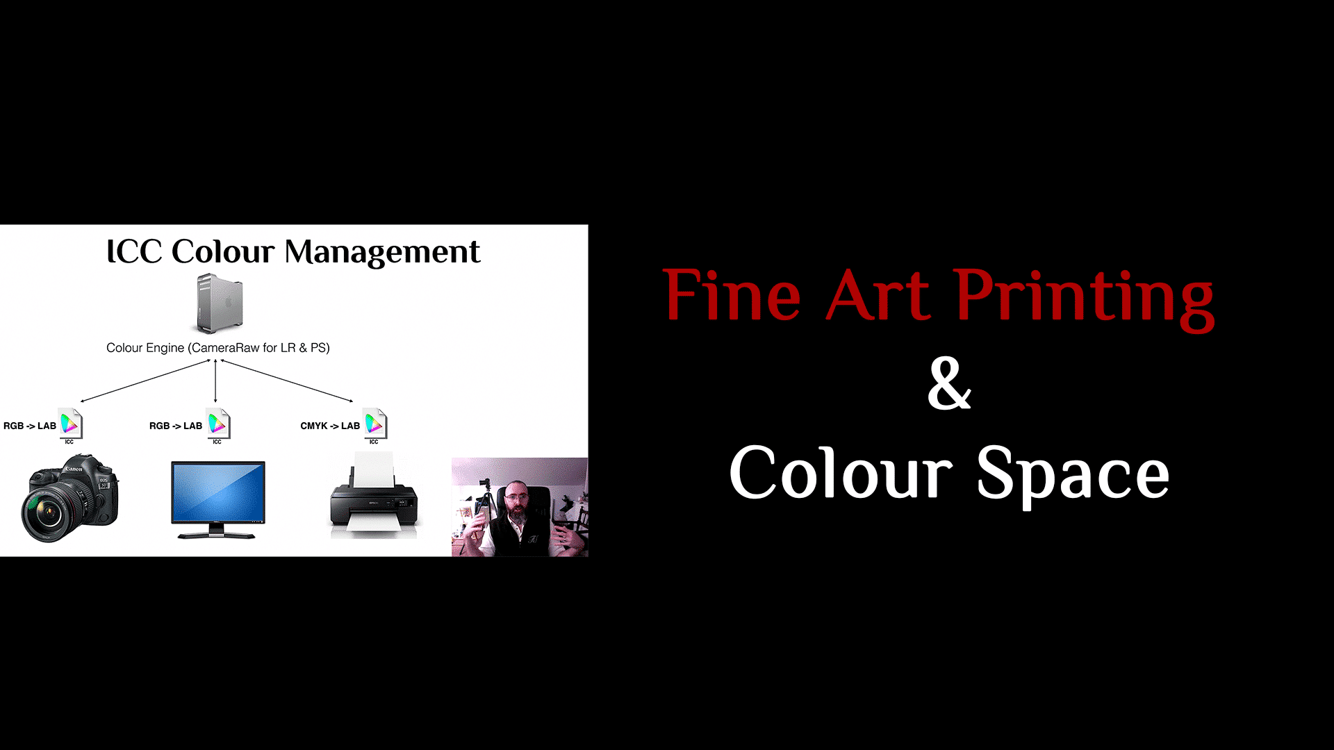 Fine Art Printing & Colour Space