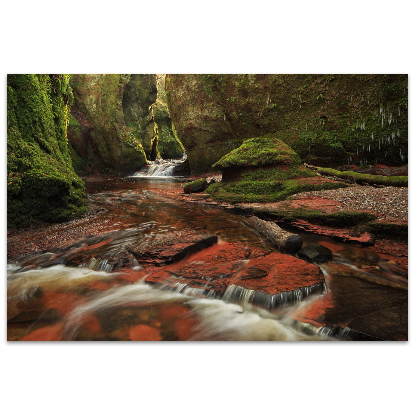 The Red Devils pulpit in Scotland