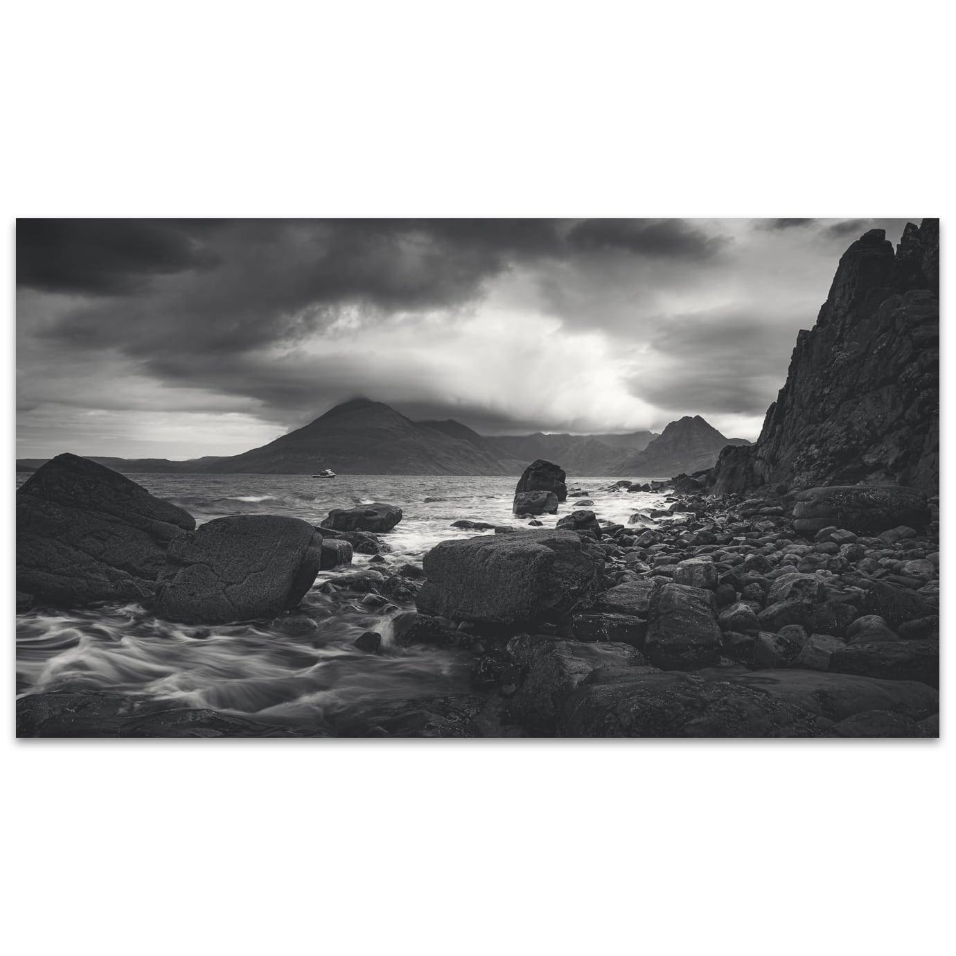 Black Cuillin depuis Elgol - Isle of Skye Écosse