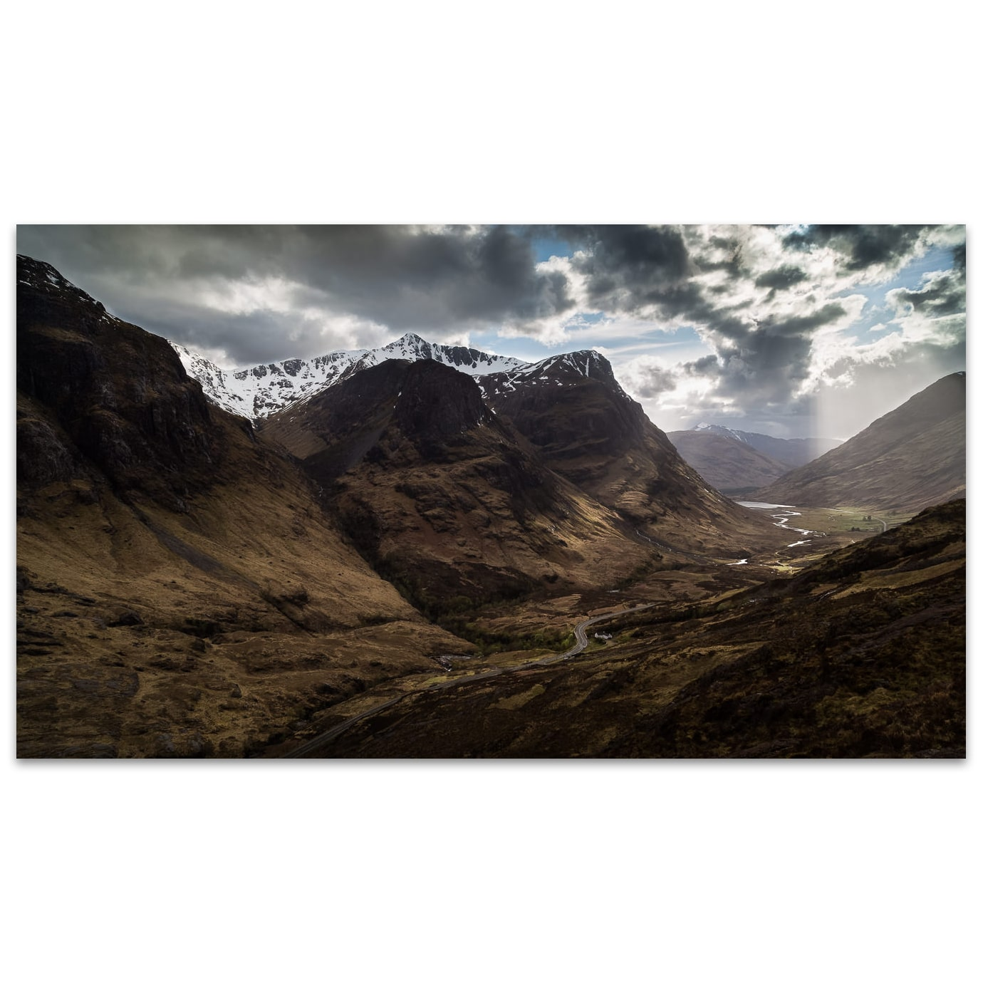 Les Trois Sœurs de Glencoe dans les Highlands en Écosse