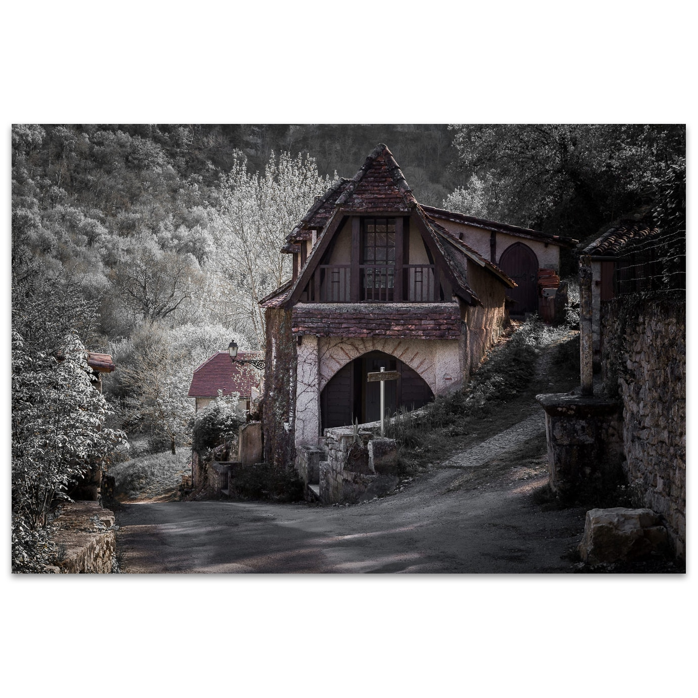 The witch house near Rocamadour in France