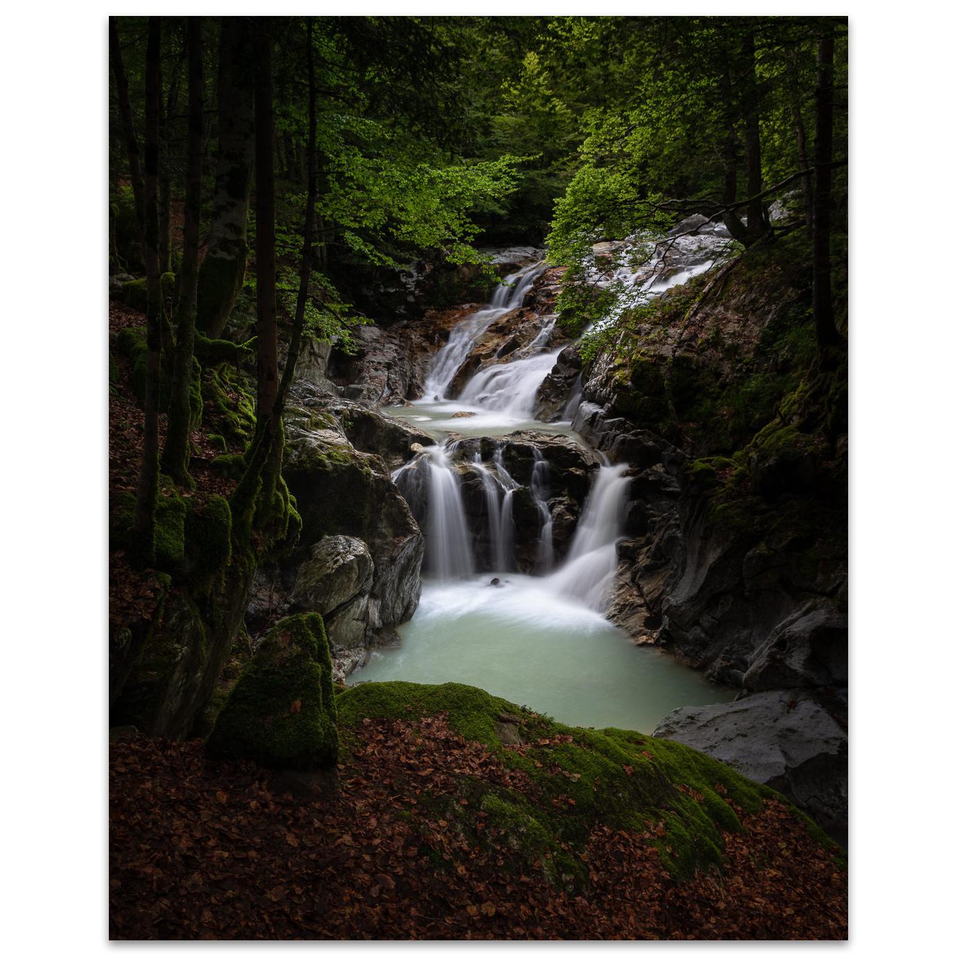 The Bious Waterfalls